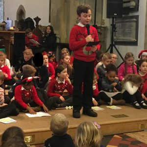 "Reading ""The Birth of Jesus"" read by Arran W"